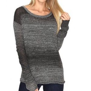 Prana Open Back Nightingale Sweater Grey Women's S